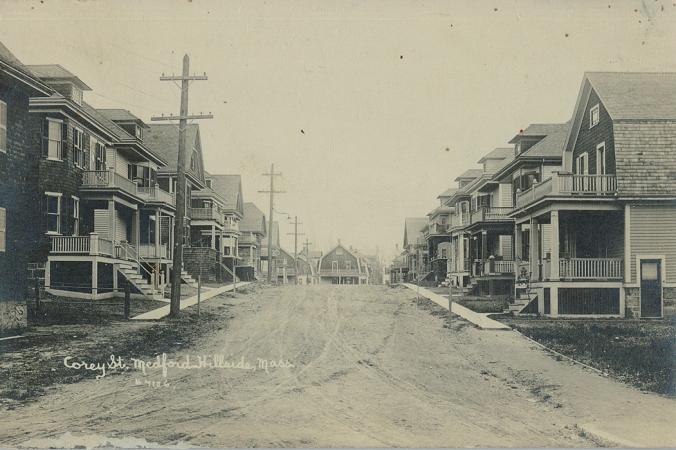 Corey Street Circa 1915